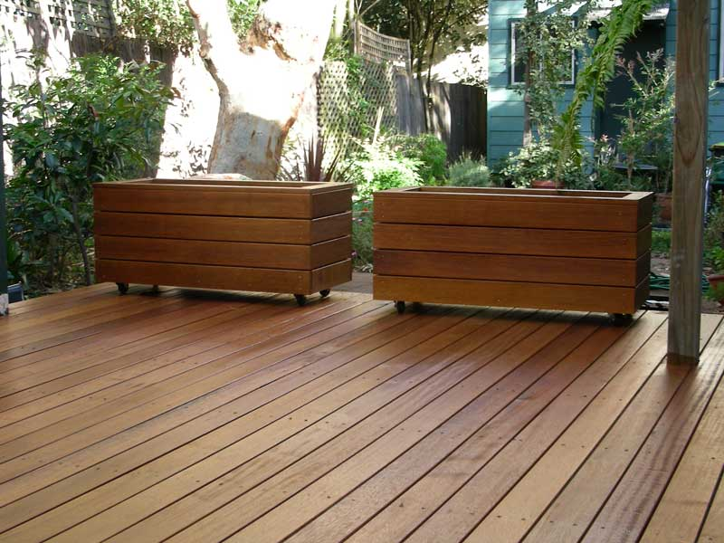 Gallery for Deck garden box designs